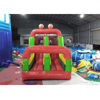 Wholesale Funny Soccer Blow Up Obstacle Course Moon Bounce Customized For Party from china suppliers