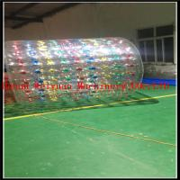 Wholesale summer hot inflatable water roller zorb ball  2.2M  with custom color PVC1.0mm material from china suppliers