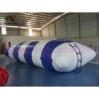 Buy cheap SGS Blue PVC Blow Up Water Park Jumping Flip Water Toy, Inflatable Water Blob from wholesalers