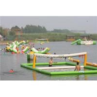 Wholesale inflatable beach volleyball court , inflatable water volleyball court from china suppliers