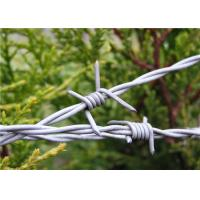 Barbed Wire Fencing I 1320 ft. 4 PT 12-1/2GA Galvanized With Two / Four Point