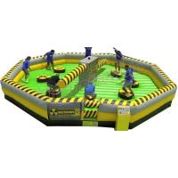 Wholesale Challenge Inflatable Meltdown Wipeout Sport Game With Rotative Machine from china suppliers