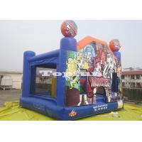 China Halloween Inflatable Jumping Castle / Bounce And Slide In Monsters House on sale