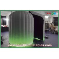 Wholesale Green Inflatable Photo Booth With LED Light For Commercail Advertising from china suppliers