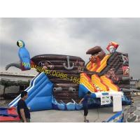Quality pirate water slide for pool for sale