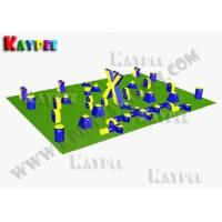 Wholesale 7 Man Xtreme RPO Package,Inflatable paintball Bunker filed, paintball arena KPB023 from china suppliers