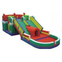 Wholesale Big Outdoor Commercial Kids Inflatable Bouncy Castle Slide for Playground from china suppliers