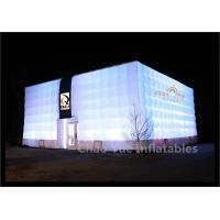 Buy cheap LED Inflatable Cube Tent for outdoor event from wholesalers