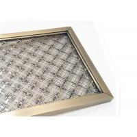 Wholesale Frame Design SS Architectural Wire Mesh Space Partiton With Antique Finished from china suppliers