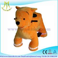 Wholesale Hansel electric battery operated walking stuffed animal ride from china suppliers