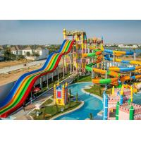 Wholesale Customize High Speed Long Fiberglass Water Slide Outdoor Play Equipment from china suppliers