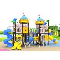 Anti - Static Toddler Playground Sets , Kids Plastic Swing Set Aisi 304 Fasteners