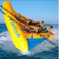 Wholesale water sled banana boat inflatable fly fishing boat inflatable water sport from china suppliers