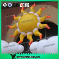 Wholesale 2m 210D Oxford Cloth LED Lighting Inflatable Sun Color Changing For Party Decoration from china suppliers