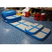 Wholesale Portable Inflatable Air Track , Customized Air Tumble Track For Home from china suppliers