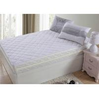 Wholesale King Size Hotel Matress Protector 100% Polyster 120 GSM  Easy To Miantian from china suppliers