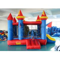 Wholesale Amusement Park Blue Inflatable Bounce House Castle , Inflatable Jumpy House from china suppliers