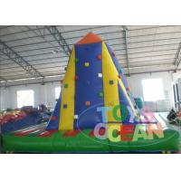 Wholesale 5 X 5M Inflatable Sports Games Inflatable Rock Climbing For Kids / Adults from china suppliers
