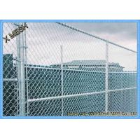 """Wholesale 11.5 Ga (0.11"""") Us Standard Galvanized Chain Link Temporary Fence from china suppliers"""