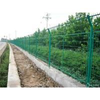 China PVC Coated Wire Mesh Fencing , Welded Wire Mesh Panels For Road / River Side on sale