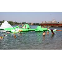 Commercial Inflatable Water Park /  Floating Water Playground For Adults Or Children