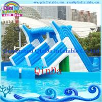 Wholesale Giant lake inflatable water slide for sale inflatable pool slides for inground pools from china suppliers