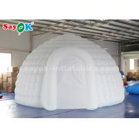 Wholesale 5 Meter Inflatable Igloo Dome Tent With Air Blower / Remote Controller from china suppliers
