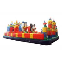 Wholesale Mickey Mouse Inflatable Fun City Outdoor Inflatable Jumping Naughty Castle from china suppliers