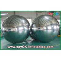 Wholesale Large Inflatable PVC Mirror Ball Customized Size For Event Decoration from china suppliers