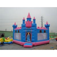 China PVC Tarpaulin Outdoor Inflatable Jumping Castle Rentals Available UV Proof on sale