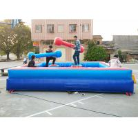 Wholesale Human Gladiator Bouncy Castle Joust Sport Games PVC Tarpaulin Material from china suppliers