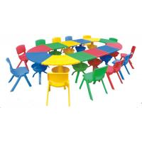 Wholesale High Quality Children Furniture Kids plastic table and import LLDPE chair for perschool from china suppliers
