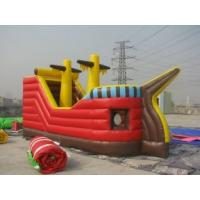 Wholesale Waterproof Commercial  Inflatable bouncy slide rental with 1000D PVC Tarpaulin for party from china suppliers
