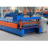 Wholesale Metal Roofing Sheet Bending Machine , Automatic Roof Panel Roll Forming Machine from china suppliers