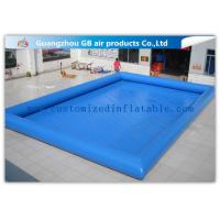 China 12 * 10m Summer Large Inflatable Swimming Pool For Adults Customized on sale