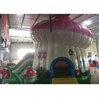 Wholesale Kids Home Small Inflatable Bounce House Combo With Slide Party Mushroom Castle from china suppliers