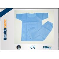 Wholesale Eco Friendly Disposable Scrub Suits Surgical Hospital Gowns With CE Certificate from china suppliers
