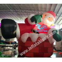 Buy cheap Advertising inflatable,Inflatable Santa Claus,Inflatable advertising model from wholesalers