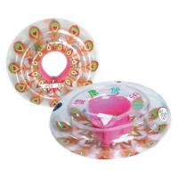 China Baby Inflatable Swimming Rings / Tubes For Children With Neon Colors 50cm on sale
