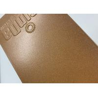 Wholesale Brown Metallic Powder Coat , Epoxy Polyester Thermosetting Powder Coating from china suppliers