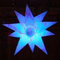 Wholesale Inflatable LED Star Balloon/Decoration, Made of PVC from china suppliers