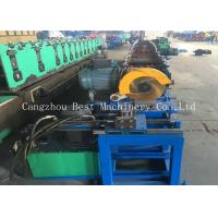 Wholesale Customized Oval Duct Pipe Roll Forming Making Machine 380v 4.5kw Power from china suppliers