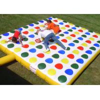 Wholesale Popular Inflatable Interactive Games , Kids Inflatable Twister Game from china suppliers