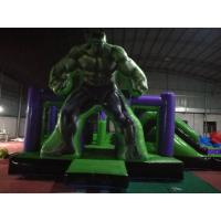 Buy cheap Reliable Safe Inflatable Hulk Bounce House Double Stitching Everywhere from wholesalers