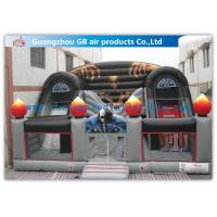 China Pvc Tarpaulin Inflatable Haunted House Jumping Bouncer Inflatable Bouncy Castle on sale