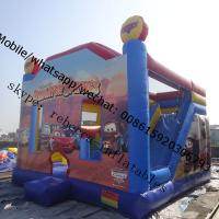 Wholesale inflatable bouncer house infltable car bouncer from china suppliers