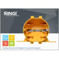 Wholesale Yellow Plastic exterior Electrical Junction Boxes for industrial from china suppliers