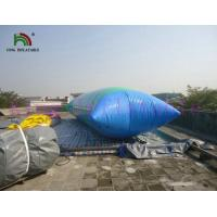 0.9mm PVC Tarpaulin Blow Up Water Fun Toy , Inflatable Water Blob For Water Park for sale