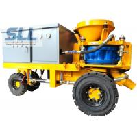 Buy cheap Less Dust Wet Durable Concrete Spraying Machine High Concrete Strength from wholesalers