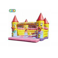 Wholesale Outdoor Clown Big Moonwalk Adult Size Bounce House Support Customization from china suppliers